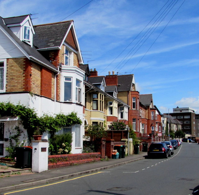 Devon Place houses, Newport
