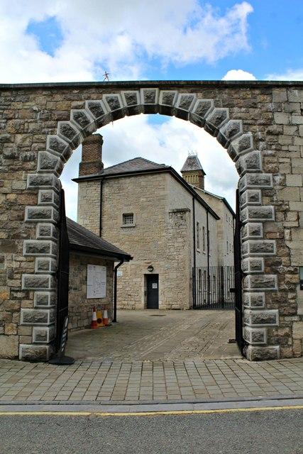 Gateway to Ruthin Gaol