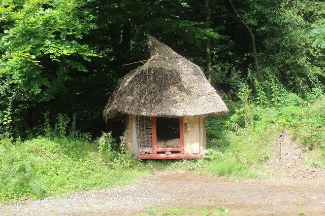 Hut, Bryn Eryr Farmstead, St Fagans National History Museum