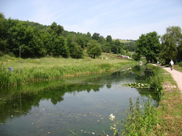 The Thames and Severn Canal, looking downstream