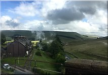 SD7992 : View from the Dandrymire Viaduct by Graham Hogg