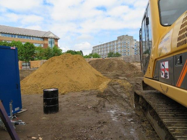 Building site - roundabout