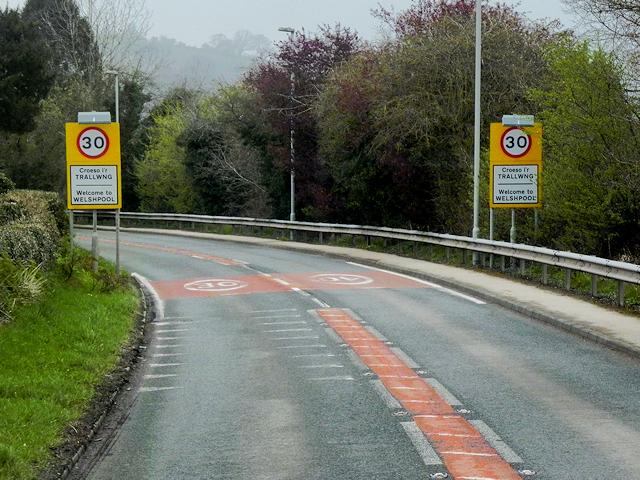 Welshpool, Berriew Road
