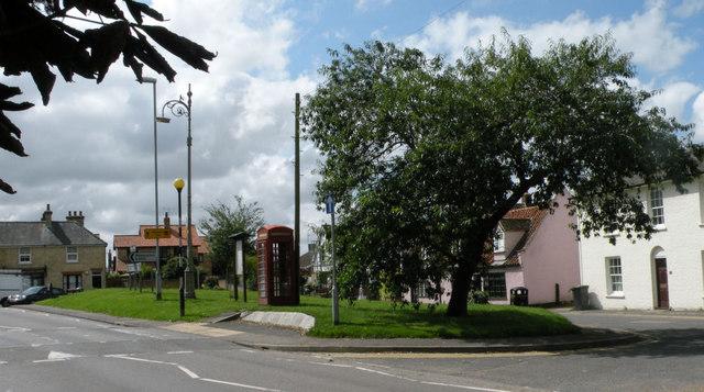 Disused phone box in Burwell
