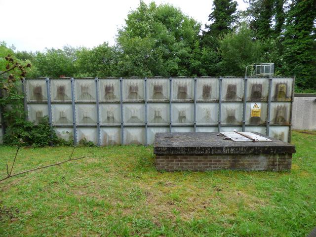 Water tank at Skelmorlie
