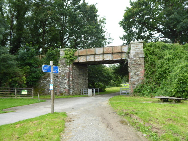 Bridge over the Camel Trail at Scarlett's Well