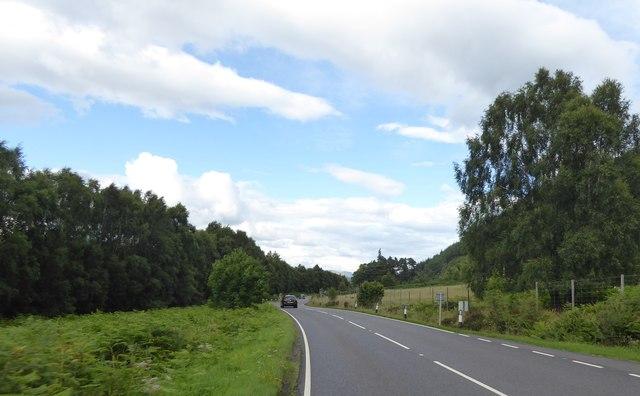 A82 near Newton