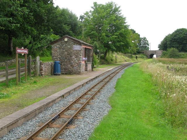 Muncaster Mill Railway Station, Ravenglass and Eskdale Railway