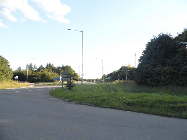 Oxford Road at junction 5 of the M40