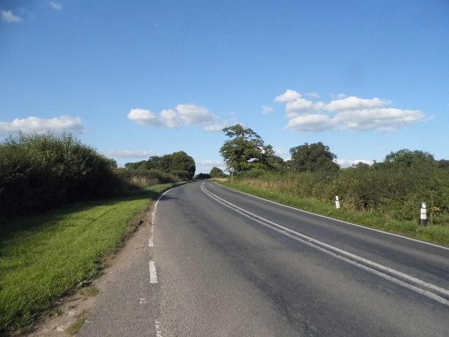 The B4011 near Boarstall