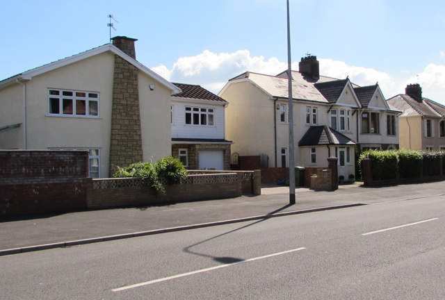 Heol Don houses, Whitchurch, Cardiff