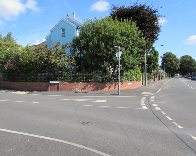 Junction of Heol Don and Kelston Road, Whitchurch, Cardiff
