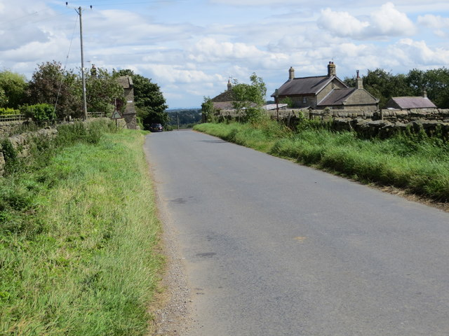 Swincliffe Lane approaching Swincliffe