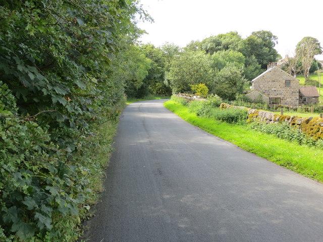 Crag Lane near Crag Lane Farm