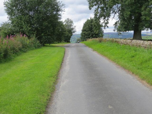 Reynard Crag Lane near Swarcliffe