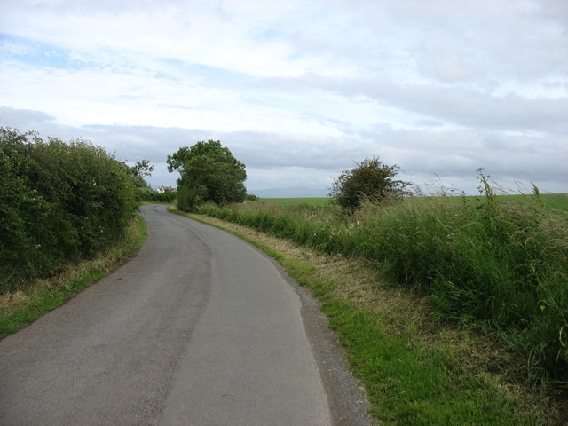 The lane from Allerby to Allonby