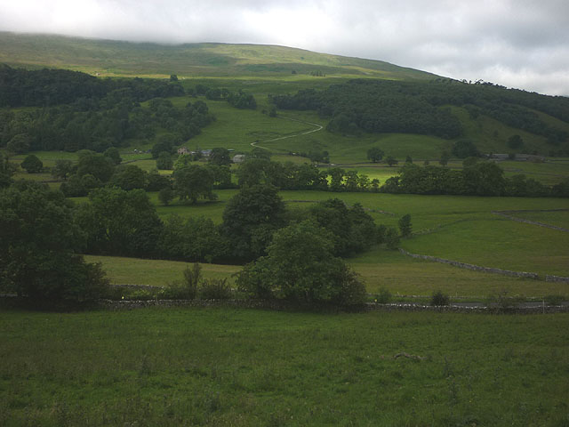 Pastureland north of Buckden