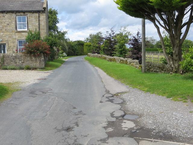 Reynard Crag Lane at Swarcliffe Top