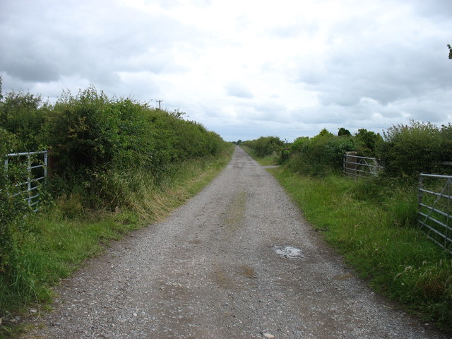 Farm track near Allonby