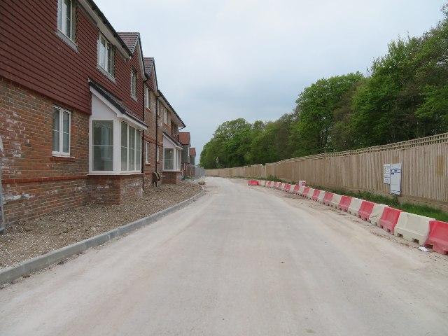 Builders access to Longacre development