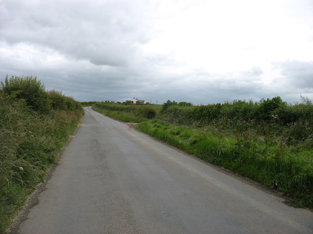The lane from Allonby to Westnewton
