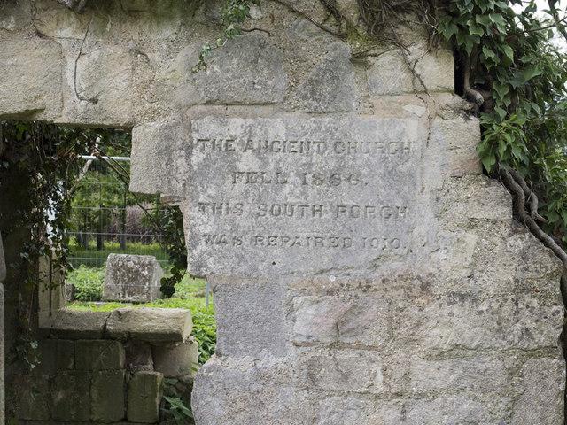 St Helen (old church), Colne - Memorial