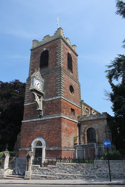 Church of St Peter, North Hill, Colchester