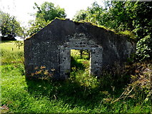 H6258 : Ruined hall, Knockonny by Kenneth  Allen