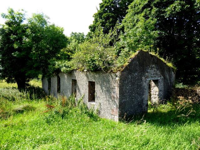 Ruined hall, Knockonny