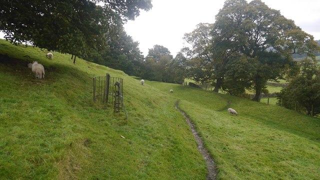 Railway trackbed, Wensleydale
