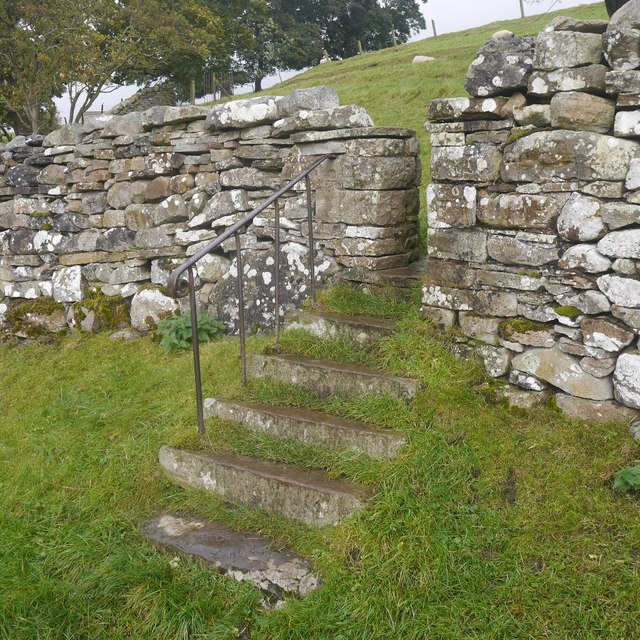 Steps and stile