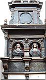 SX9192 : Monument, St Petrock's church, Exeter by Julian P Guffogg