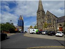 H4472 : Church Street, Omagh by Kenneth  Allen