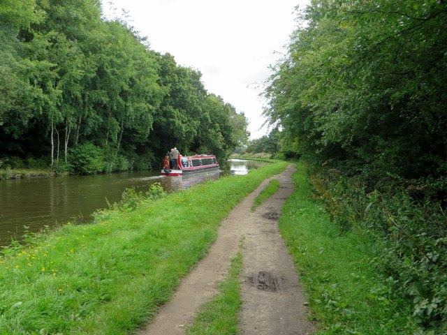 Narrow boat on the canal