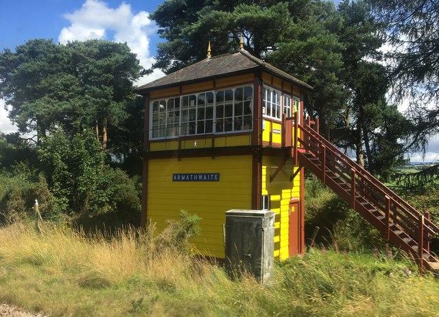 Armathwaite signal box