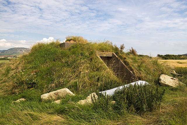North Wales WWII defences: RAF Nefyn - Chain Home Radar Station - Third Bunker (9)