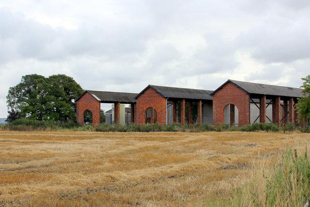 Farm Outbuildings at Barnby House