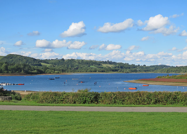 Carsington Water on an August afternoon