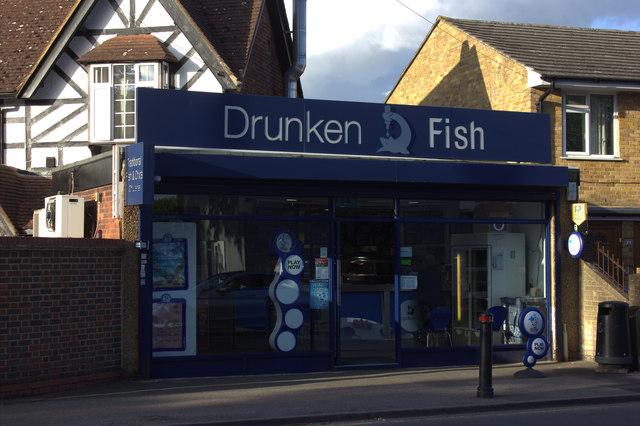 The Drunken Fish, Horton Road, Datchet