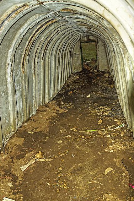 North Wales WWII defences: RAF Penrhos - air raid shelter (6)
