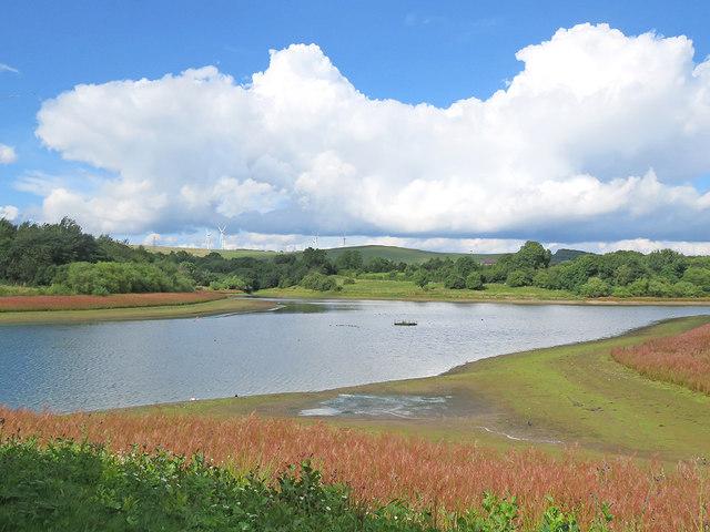 Carsington Water, near Horseshoe Island