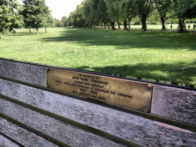 Bench for John Rowe Townsend