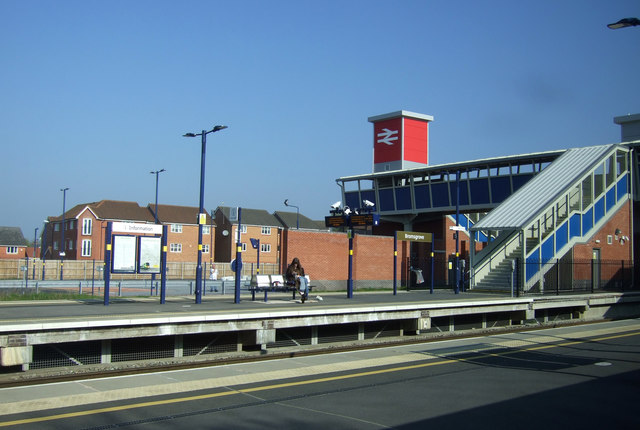 Foot bridge, Bromsgrove Railway Station