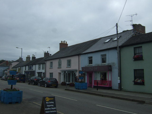 Shops on Fore Street, Hayle
