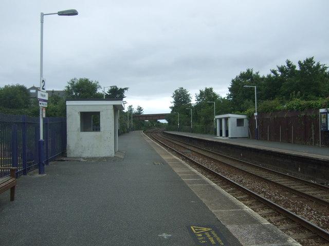 Shelter, Platform 2, Hayle Railway Station