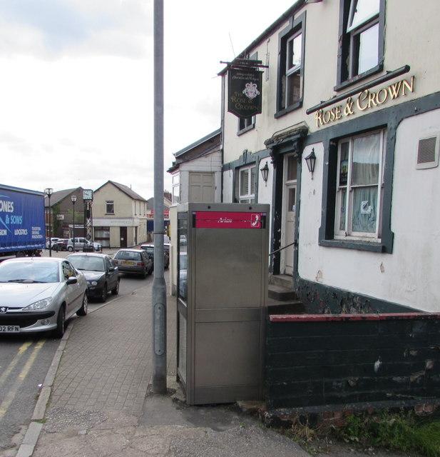 Victoria Street phonebox, Old Cwmbran