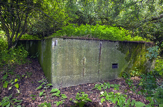 WWII defences of Liverpool: RAF Speke airfield - Section Post (2)