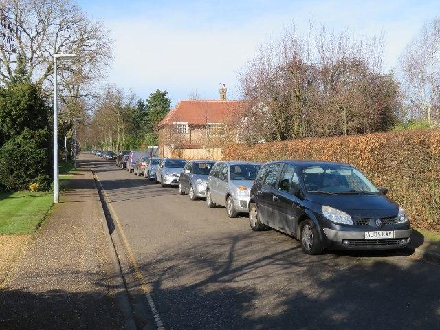Non residents parking - Bentley Road