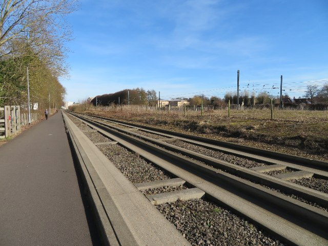 Cambridge busway south of city