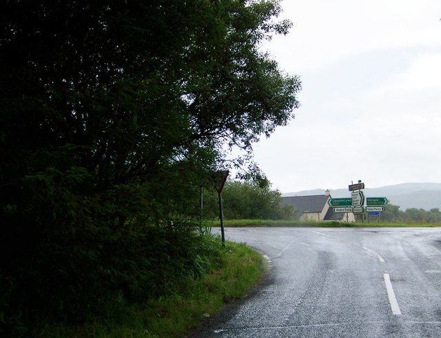 Junction of the A83 and B8001